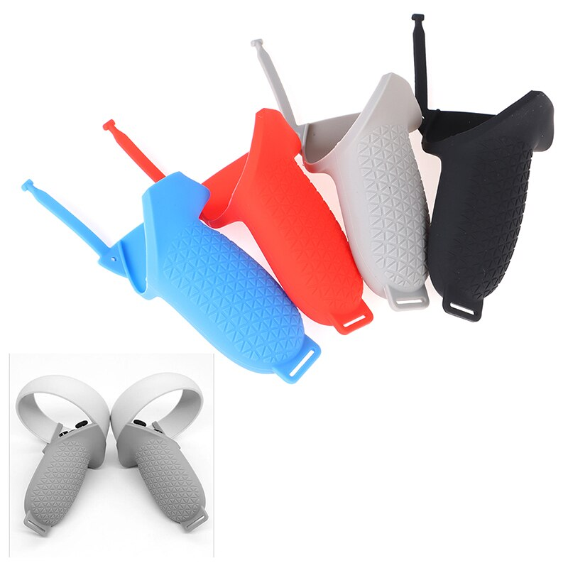 VR Accessories For Oculus Quest 2 Silicone Cover Controller Protective Sleeve Skin Handle Grip Covers For Oculus Quest2 enlarge