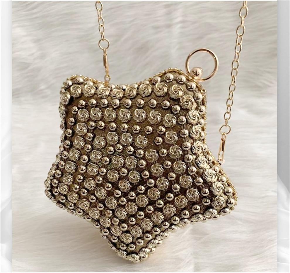 2021 جديد السيدات حقيبة يد مأدبة الماس رصع حقيبة ساعي عشاء موضة ستار حقيبة صغيرة الإناث حجر الراين حقيبة كتف