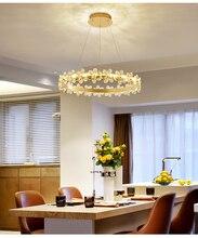 """2020 Nordic Crystal Chandeliers Lighting Brown Gold Led Lamp For Bedroom Dining Living room deco Ceiling Chandelier lustre susp"