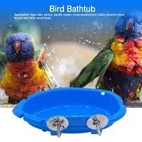 durable tub bowl basin parrot cage hanging bathing box bird accessories cockatiel bird supplies parrot accessories