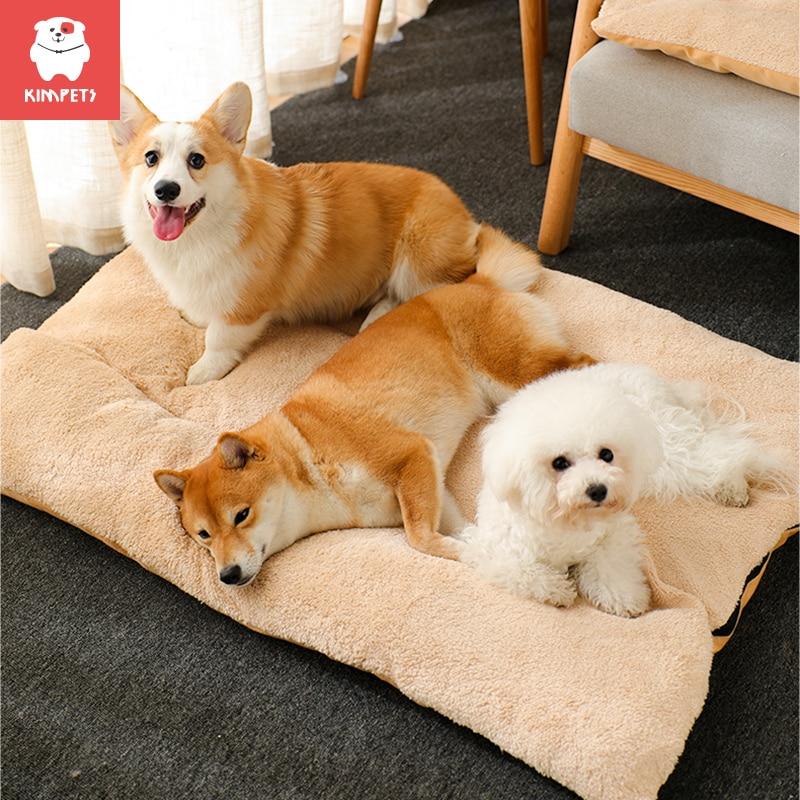 Tapete do Cão Cama do Cão de Estimação Removível e Lavável Kimpets Quatro Estações Universal Gato Dormir Esteira Engrossado Grande