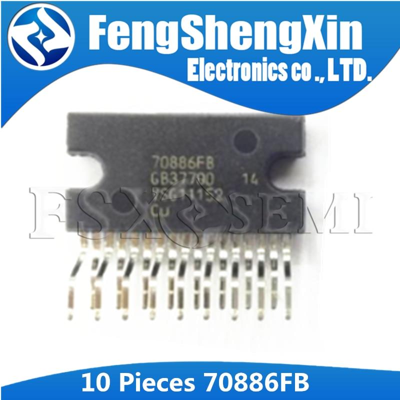 10 Uds 70886FB ZIP-17 70886 ZIP coche amplificador de audio chip