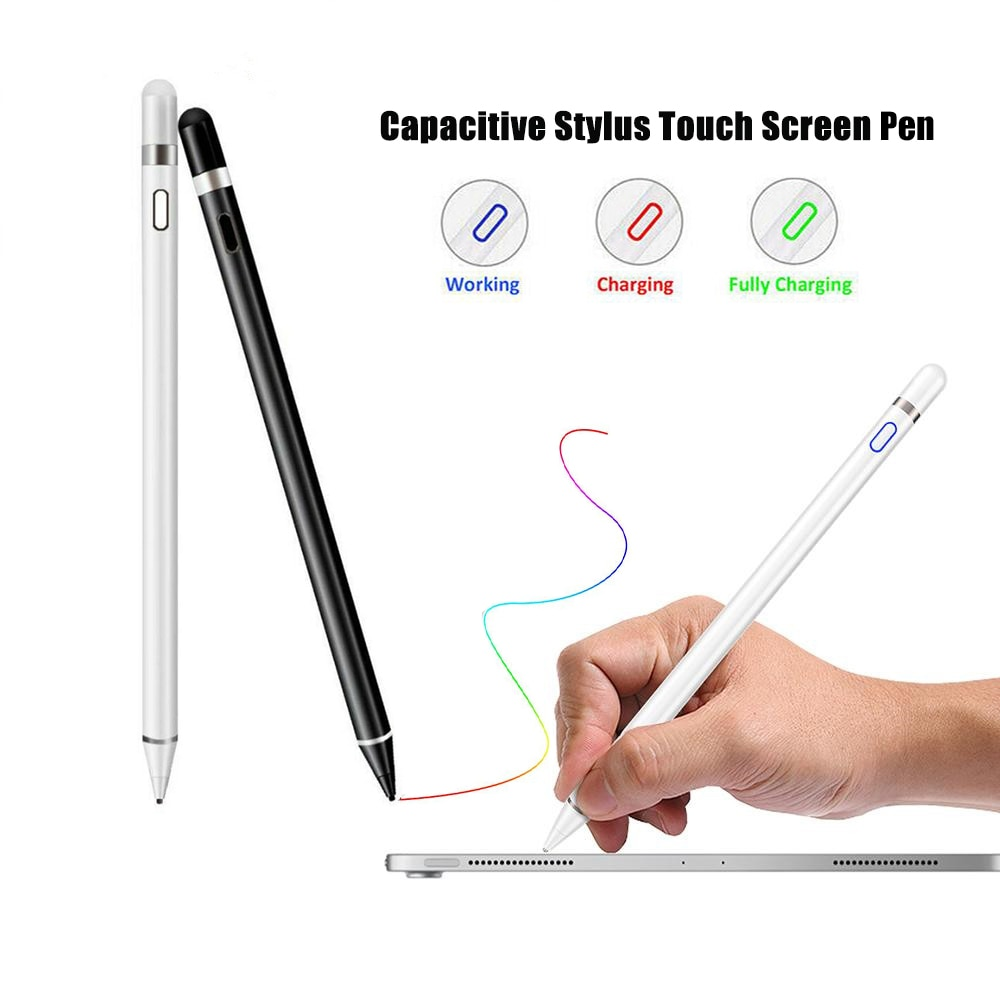Universal Capacitive Stylus Touch Screen Pen for IOS/Android System Apple Pencil iPad Phone Smart St