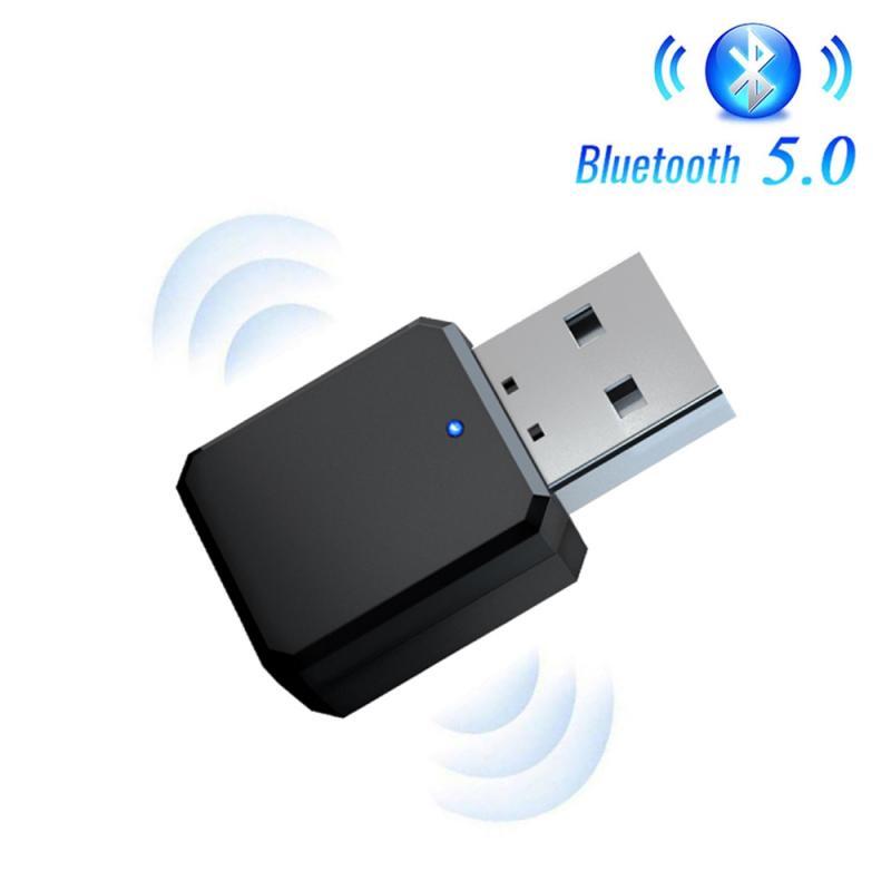 Беспроводной USB Bluetooth 5 адаптер приемник автомобильный стерео аудио адаптер музыкальный приемник Мини аудио адаптер для автомобиля свободн...