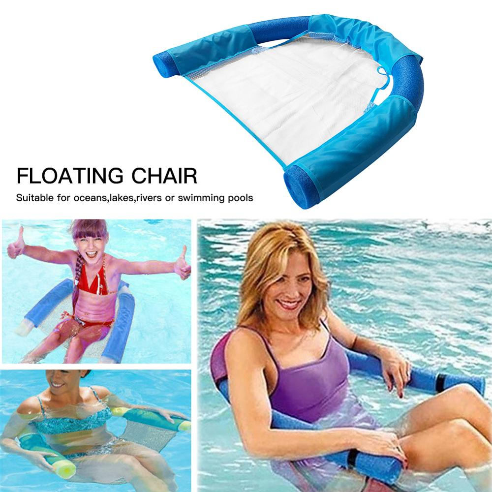 1Pcs Swiming Pool Accessories Floating Chair Swimming Seats Amazing Bed Noodle