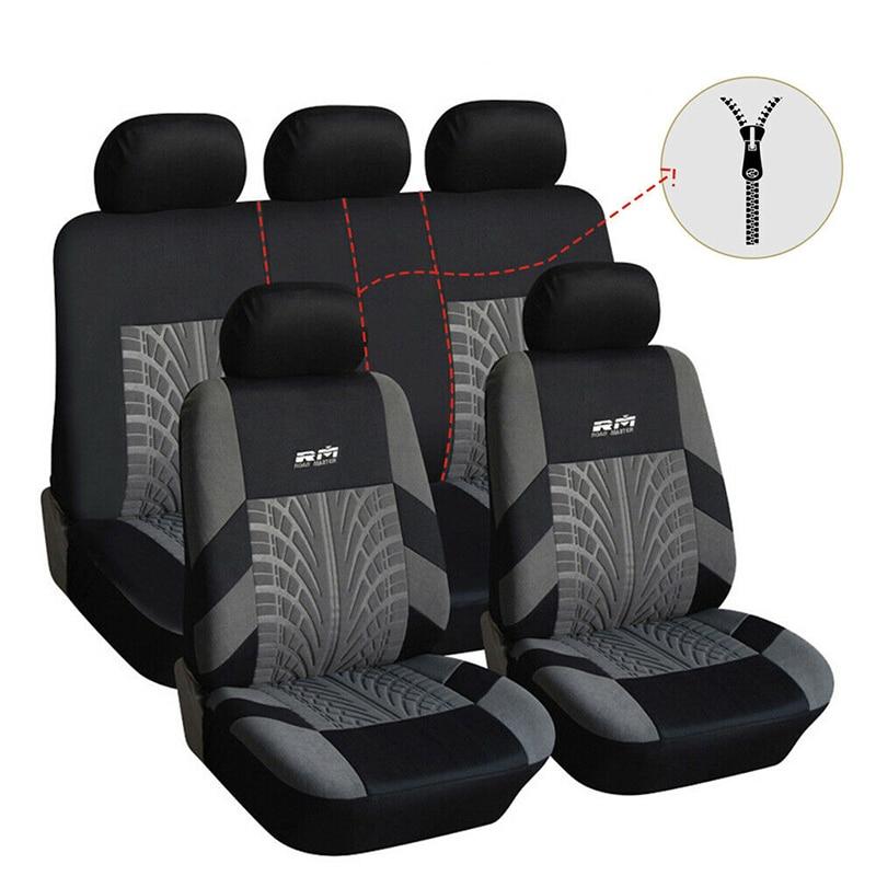 Funda Universal para asiento de coche, fundas para asiento de coche para Hyundai Accent Elantra Getz I10 I20 I30 Kombi Ix20 KONA Santa Fe Sonata Tucson