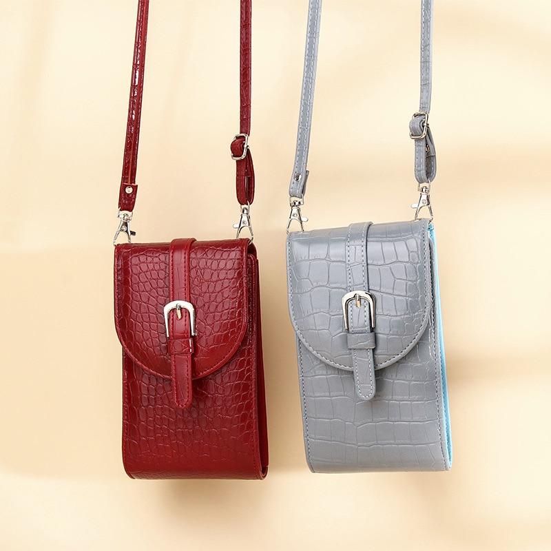 Women Clutch Lady Purse Zipper Phone Pocket Card Holder Long Wallet Shoulder Bag Phone Bags Female Wallets Ladies Carteras