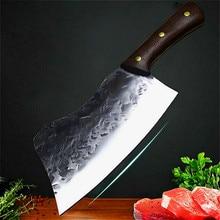 Japanischen fine stahl geschmiedet sharp knochen messer schneiden messer kochmesser fisch 59HRC knochen messer fleisch stall schlachtung messer
