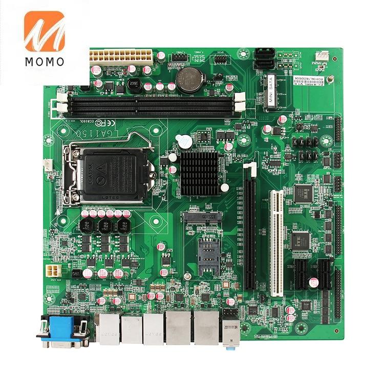 Latest Intel 4th Gen Core i7 processor 1150 industrial pc pciex16 gpio micro ATX motherboard RAM 16GB for Mall Kiosk enlarge
