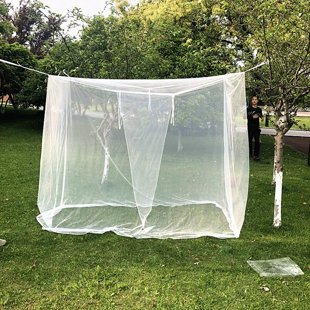200x90x180cm camping mosquito net travel tent mosquito net camping tent net outdoor net for camping hiking backpacking Camping Mosquito Net Large White Camping Mosquito Net Indoor Home Bed Outdoor Insect Tent 2x2M Curtain Bed Hanging Bed