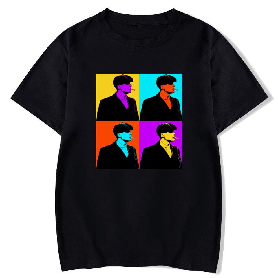 Camiseta con estampado de Vogue Peaky Blinders para mujer, ropa con estampado...