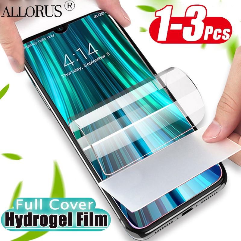 1-3 Pcs Soft Hydrogel Film For Redmi Note 8 8Pro Screen Protector Redmi Note8T Xiaomi Note 8 T Front Film Redmi 8 Pro Not Glass