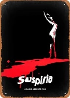 oulili vintage metal sign suspiria minimal movie posters 8 x 12 inches tin sign for home bar pub garage decor gifts