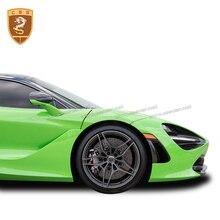 Pare-vent latéral en fiber de carbone   Adapté pour McLaren 720s pare-choc avant en fiber de carbone pour Coupe 2018 720S