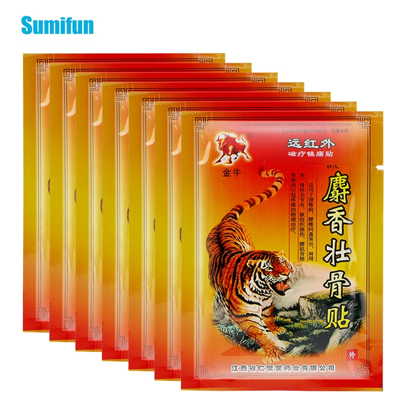 80Pcs Hot Tiger Balm Pain Relief Patch Fast Relief Aches Pains & Inflammations Health Care Lumbar Sp