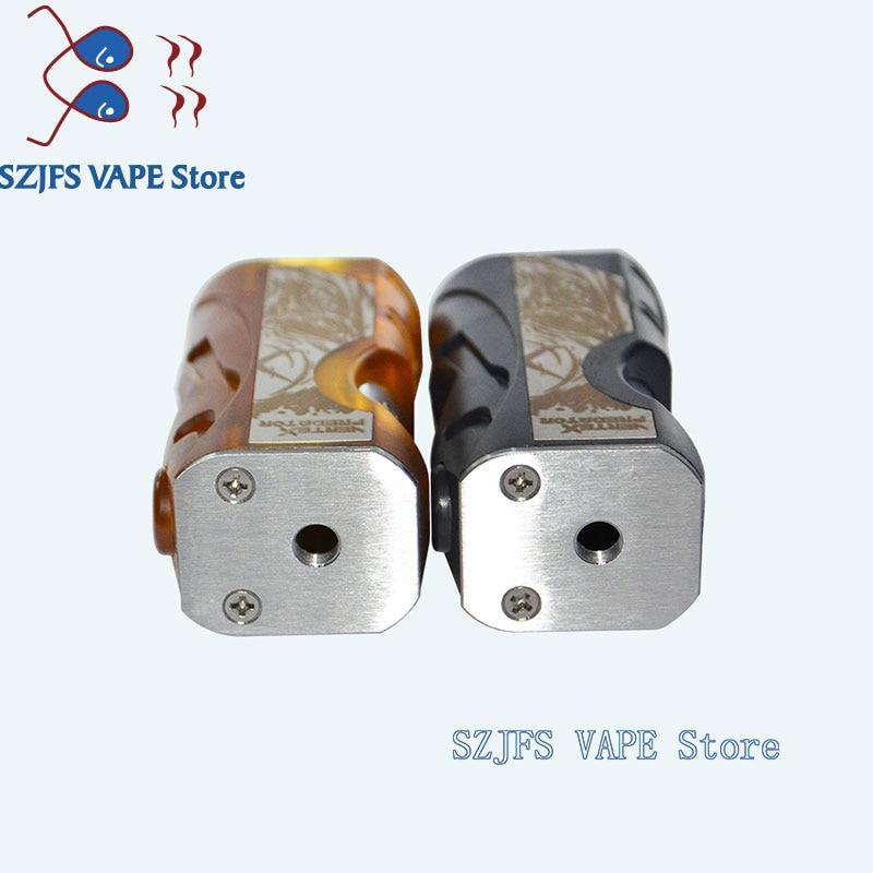 Vertex Mod Style Mechanical Box Kit aluminum POM PEI 24mm for Single Battery 18650 20700 vape mod vs goon v1.5 drop Hadaly rda enlarge