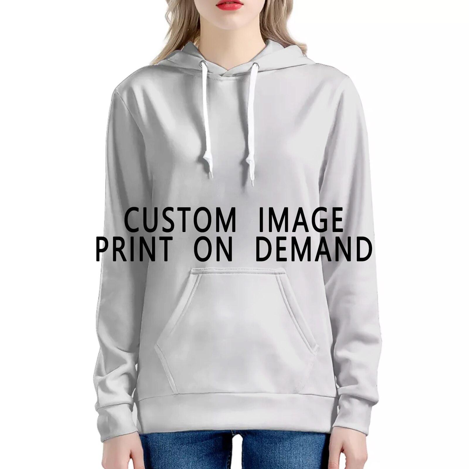 Толстовки с капюшоном с логотипом текстом и фотографией на заказ, мужские и женские толстовки с персонализированным принтом на заказ, Пряма...