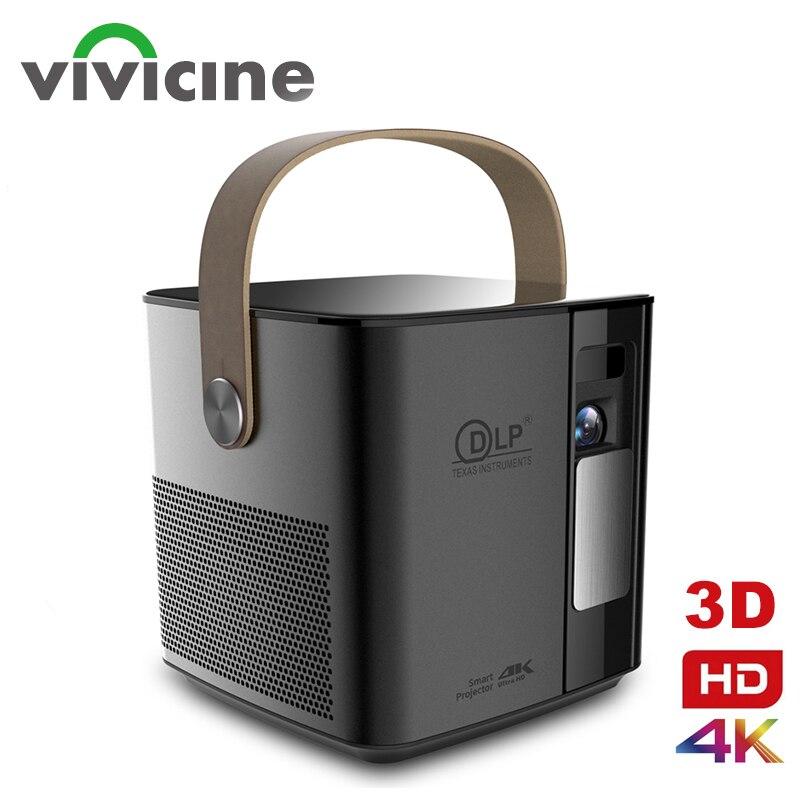 Vivicine-Proyector 3D P12 Original para cine en casa, dispositivo de proyección de...