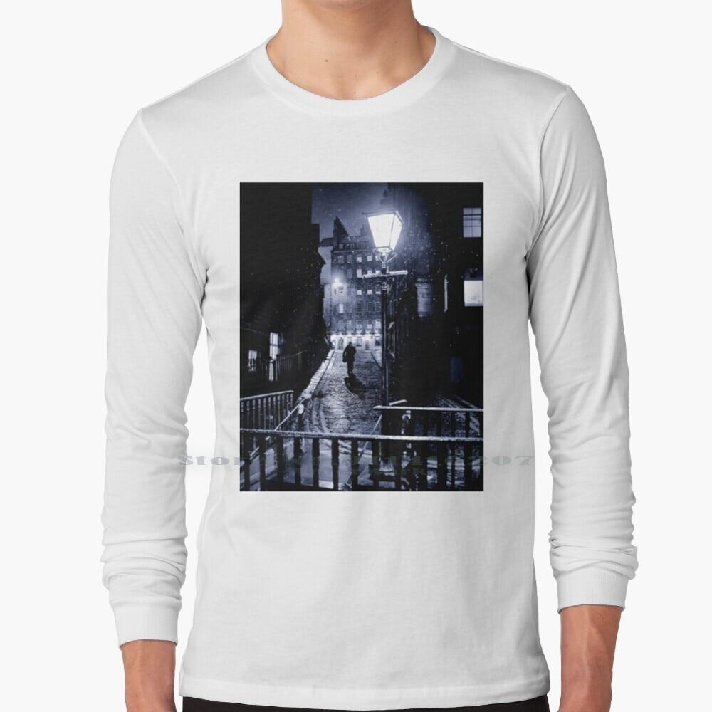 The Third Man T Shirt 100% Pure Cotton Edinburgh Darkedinburgh Scotland Night Winter