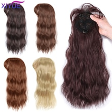 Water Ripple Wig Air Bangs Head Overhead 3D Bangs Invisible Seamless Head Hair Natural Invisible Replacement Cover White Hair