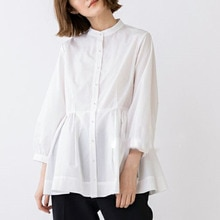 Autumn Clothes Korea Ladies 2021 Pearl Buttons Women Blouse Long Sleeves Simplicity Office Lady Clot