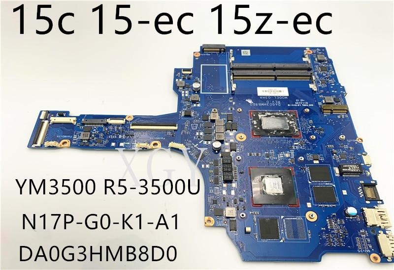 الأصلي ل hp 15-ax 15-bc TPN-Q173 دفتر اللوحة الأم dag35amb8e0 ث/I7-6700HQ N16P-GT-A2 4g اختبارها بالكامل اللوحة الأم