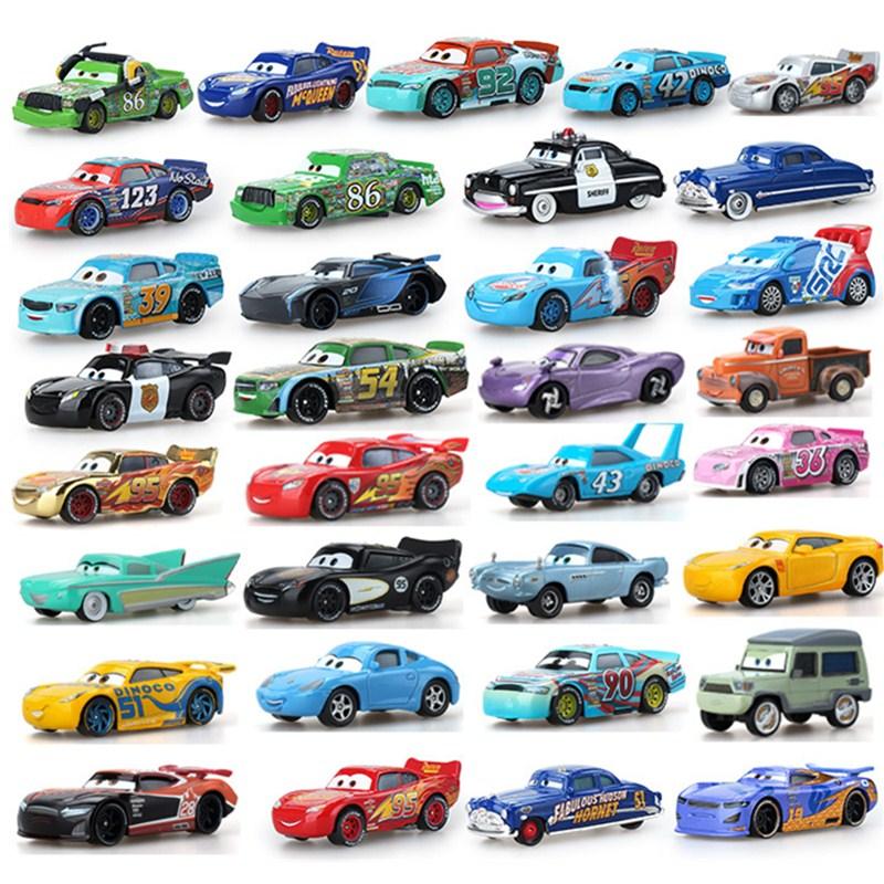 39Style Disney Pixar Cars 3 2 Jackson Storm Cars Ramirez The King Mater 1:55 Diecast Metal Alloy Mod