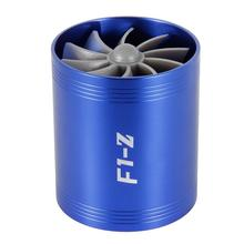 Compresseur de Turbine de voiture F1-Z Turbo chargeur simple Double filtre à Air ventilateur dadmission