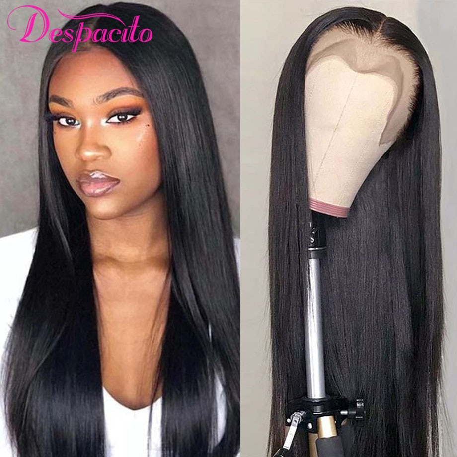 Brazilian Straight Natural Hair Lace Wigs Human Hair 13x4 Lace Front Wig T Part 13x1 Cheap Lace Frontal Wig Sale Pre Plucked