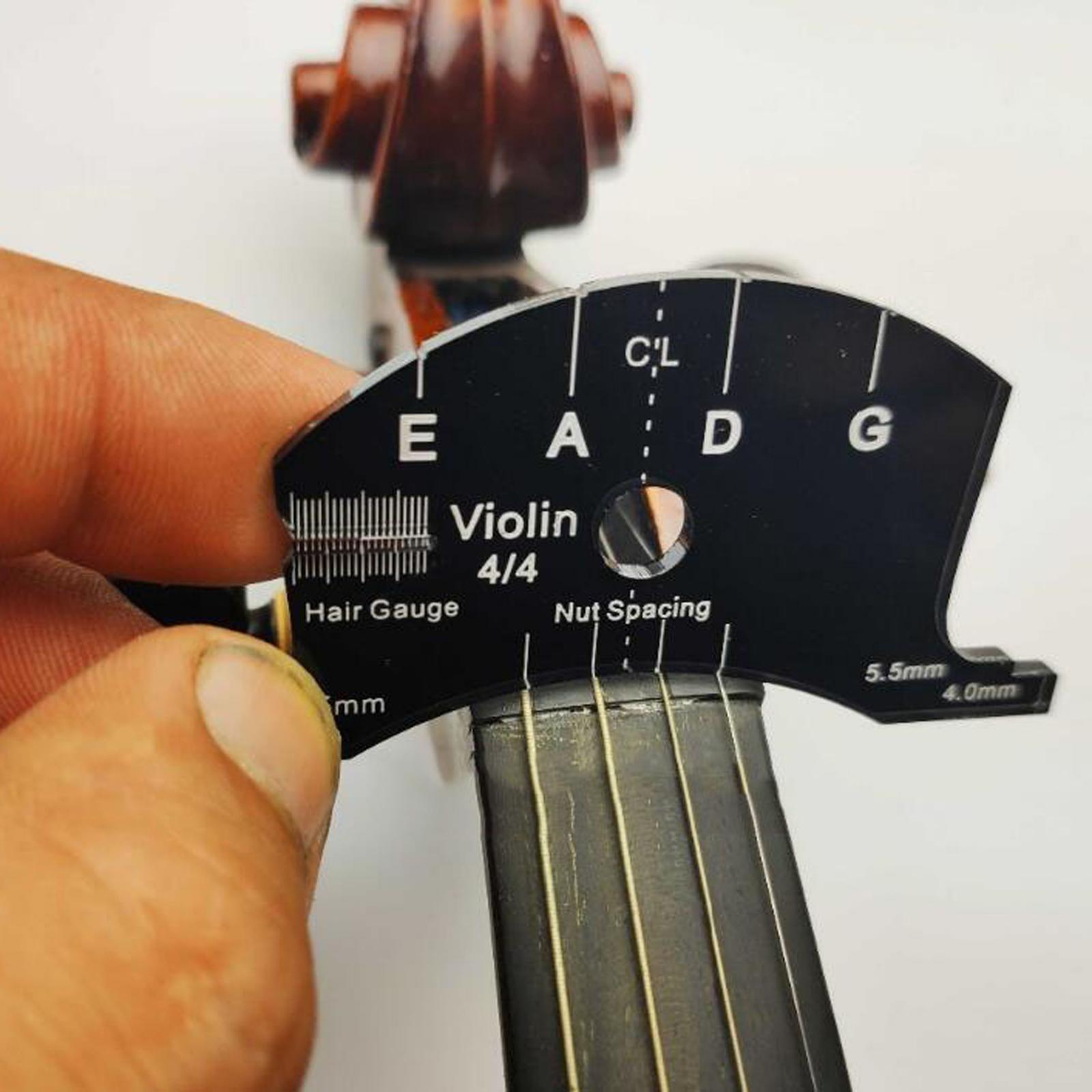 1 2 3 4 4 4 violin bridge mold repair template tool for viola violin accessories 1/2 3/4 4/4 Violin Bridge Mold Repair Template Tool for Viola Violin Accessories