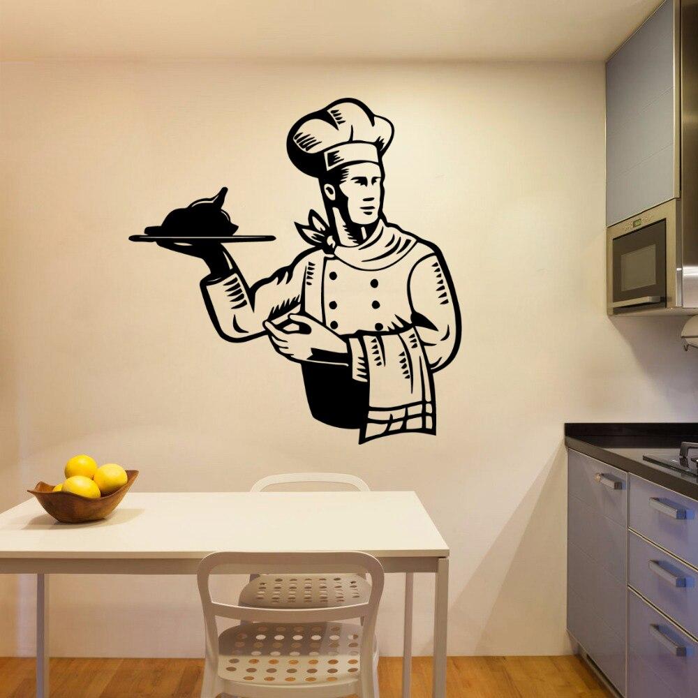 Diy кухонные обои, настенные Стикеры для кухни, декор для комнаты, настенные наклейки, виниловые наклейки, наклейки для кухни, комнаты, настен...