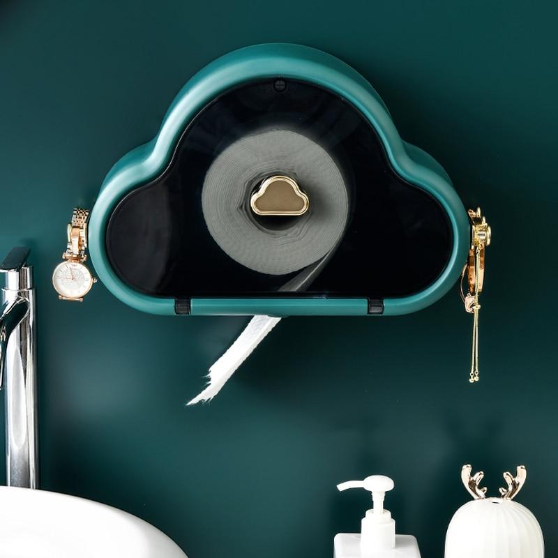 حامل ورق المرحاض الأنسجة صناديق درج مناديل حمام حامل الأنسجة صندوق ماكينة مناديل المائدة غرفة تخزين Servilletero تخزين المنزل