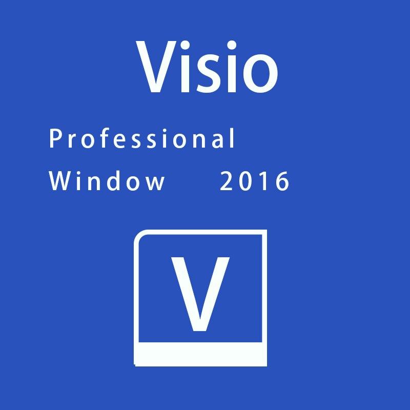 Microsoft Visio 2016 Professional Key 32/64 bit for Win