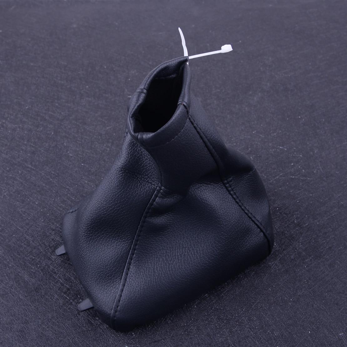 CITALL Car Gear Stick Gaiter Boot PU Leather Parking Handbrake Grips Cover Fit for Opel G Zafira A 1998 1999 2000 2001 2002-2004