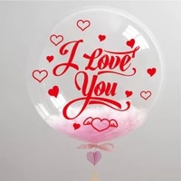 5pcslot valentine stickers static stickers disposable decorative stickers car wall window balloon sticker wedding party decor