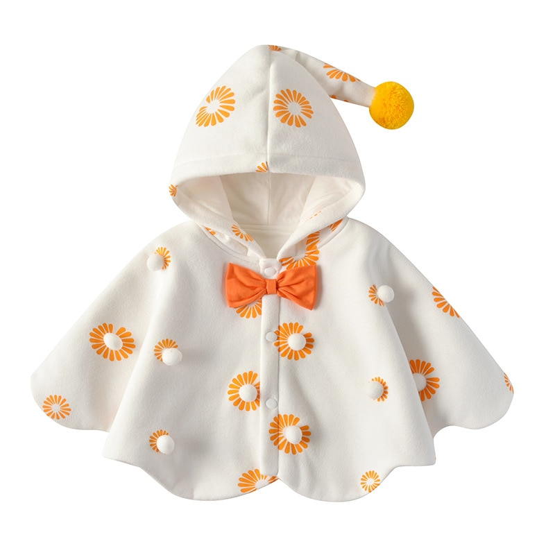 Yg Brand Children's Clothing, New Fashion Girl Autumn And Winter Children's Cape, Lovely Princess Fa