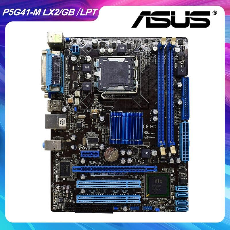 P5G41-M LX2/GB/LPT para ASUS Socket LGA 775 Original de la placa base...