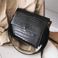 Female Alligator Crossbody Bags For Women 2020 Luxury Handbags Designer Sac A Main Ladies Hand Crocodile Shoulder Messenger Bag