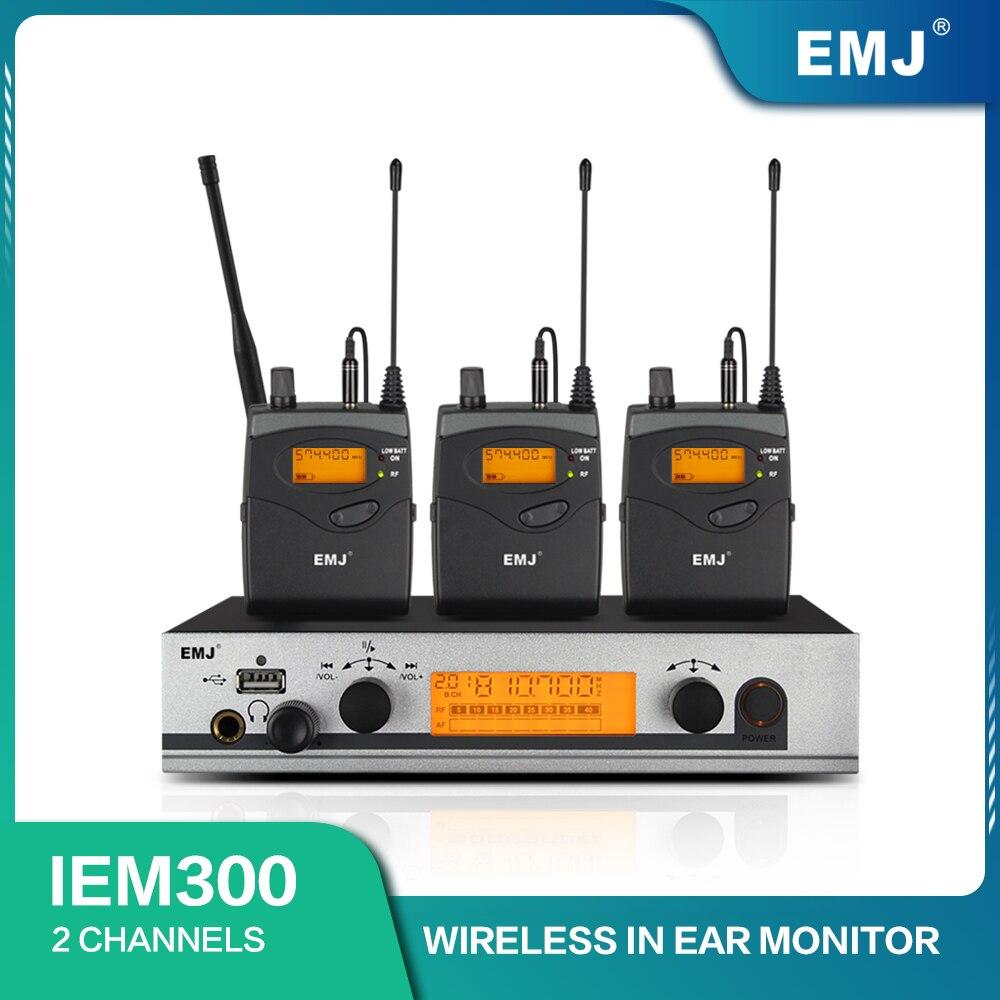 في نظام مراقبة الأذن اللاسلكية IEM300 G3 IEM رصد الارسال واحد المهنية للمرحلة الأداء 3 استقبال