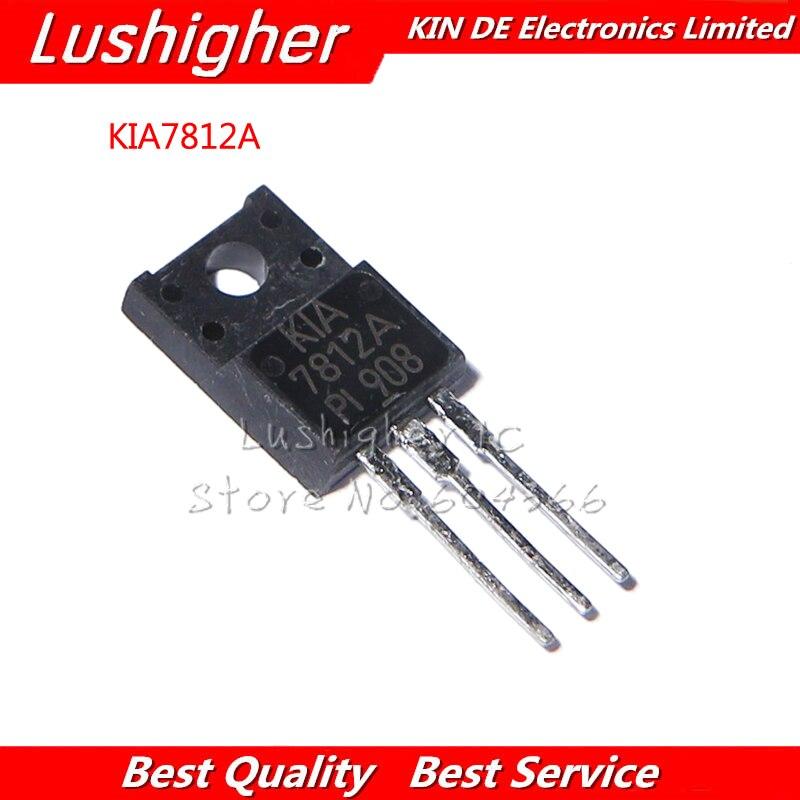 10pcs KIA7812API TO-220 KIA7812A TO220F KIA7812