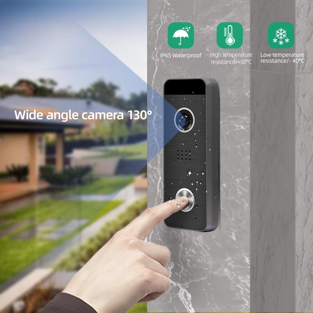 Joytimer video intercom home monitor interphone video camera wifi smart doorbell  7