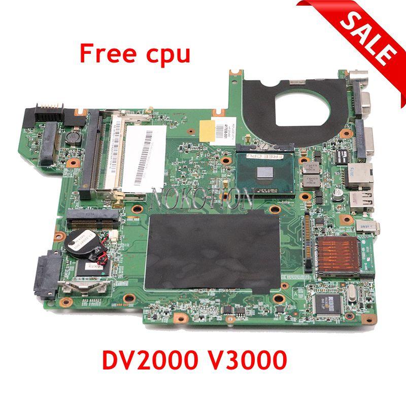 NOKOTION 440778-001 417036-001 pour carte mère dordinateur portable HP Pavilion DV2000 V3000 48.4F501.051 945GM cpu gratuit sans surchauffe