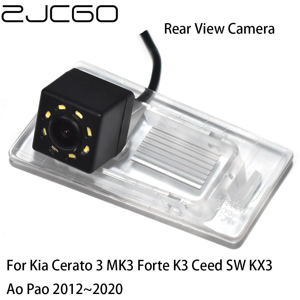 ZJCGO CCD HD Car Rear View Reverse Back Up Parking Waterproof Camera for Kia Cerato 3 MK3 Forte K3 Ceed SW KX3 Ao Pao 2012~2020