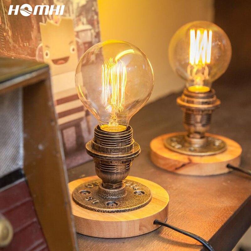 Lámpara De Mesita De Noche decorativa, accesorio De Mesa Vintage, De estilo...