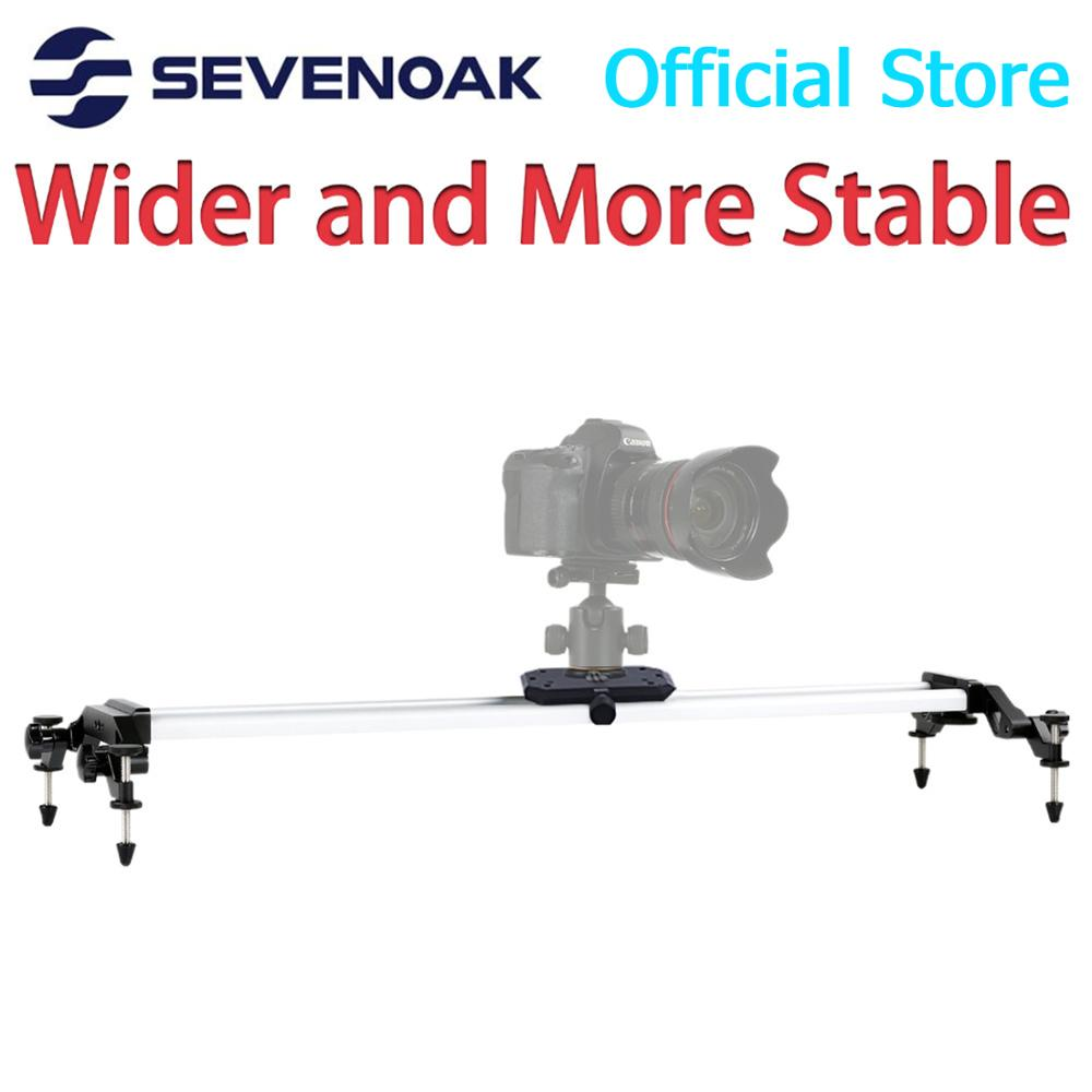 Sevenoak SK-HD120 de aluminio cámara de vídeo deslizante para Canon 5D MarkII 7D 60D D3100 Nikon D7000 Gopro Cámara videocámara