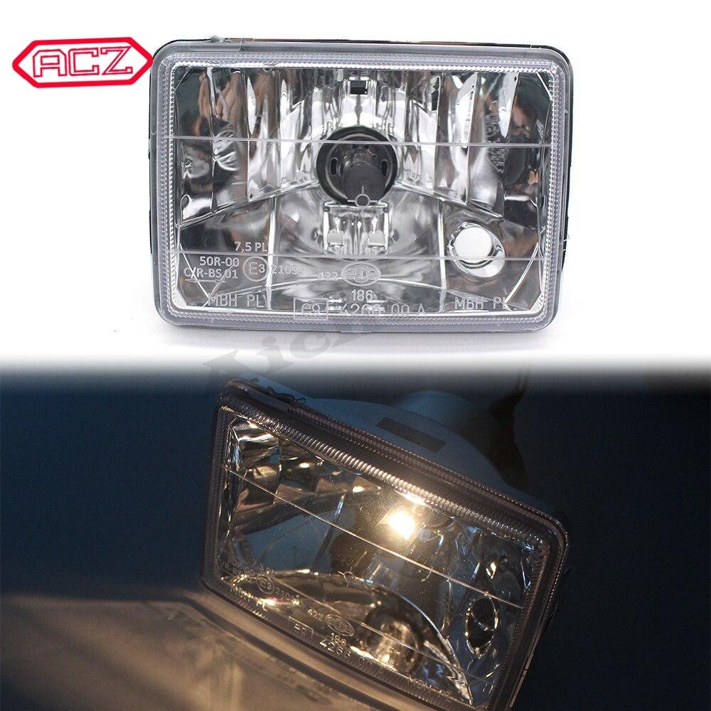 دراجة نارية الجبهة المصباح رئيس ضوء مصباح مجموعة مصابيح أمامية لفيسبا S 50