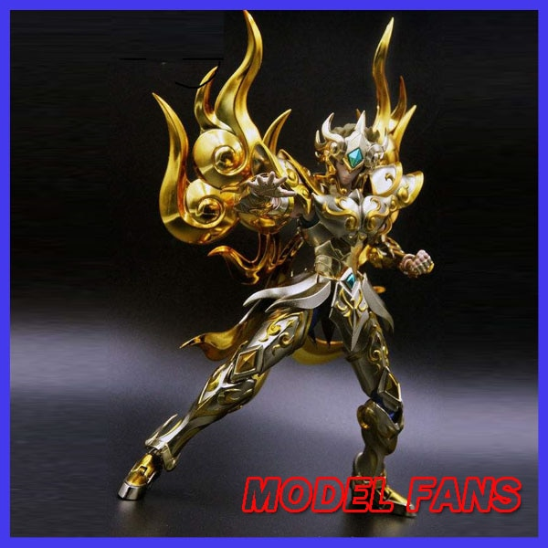 Модели фанатов в наличии chuanqi chuanshen sog soul of gold Leo Aioria Aiolia Saint Seiya metal armor Myth Cloth фигурку