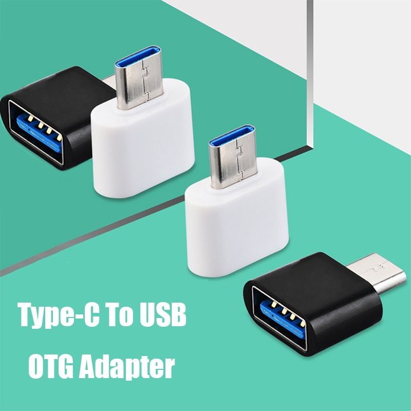 Type C To USB Adapter OTG Converter For Huawei Xiaomi Samsung Android Mobile Phones Mini Type-C USB-