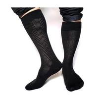 brand classic mens thick winter socks new arrival fashion gentlemen formal dress suit socks black cotton hose for man