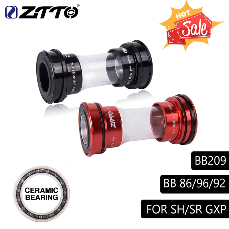 CERAMIC BB209 BB92 BB90 BB86 Press Fit Bottom Brackets for Road Mountain Bike Parts 24mm Crankset BB GXP 22mm Chainset